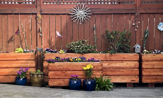 fixed bed planter